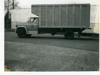 Truck B&W from 1970s
